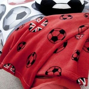 Deka Football Red, 127x143 cm