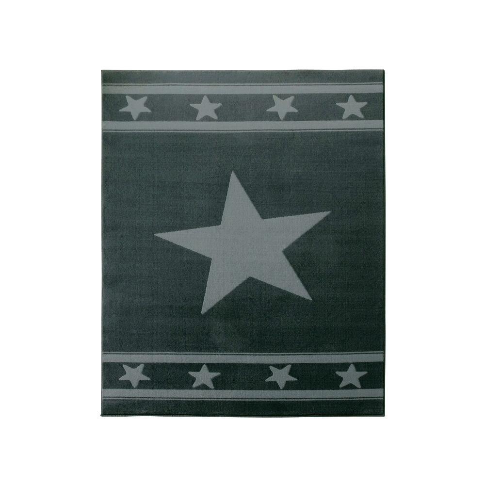 Dětský šedý koberec Hanse Home Star, 140 x 200 cm