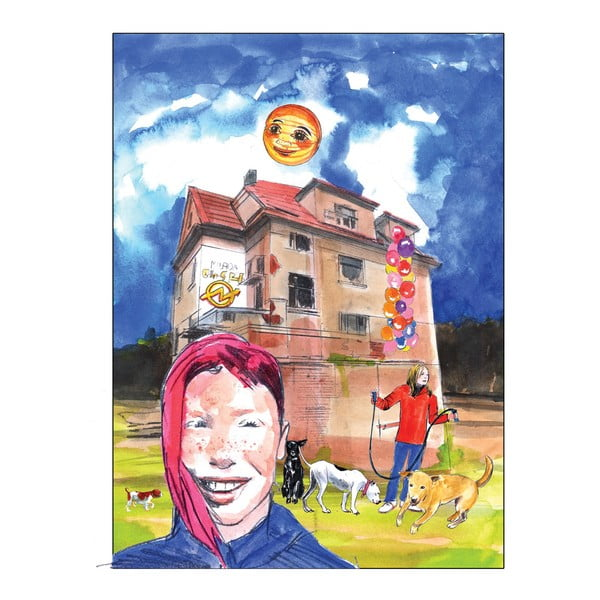 Autorský plakát od Toy Box Ája, Milada a Nikita, 60x45 cm