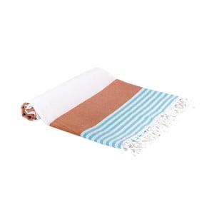 Hamam osuška z ručně tkané bavlny ZFK Joakim, 180x100cm