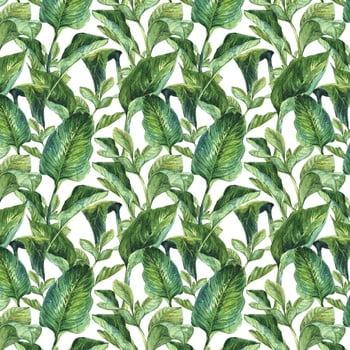 Tapet pentru perete Dekornik Leaves, 50 x 280 cm imagine