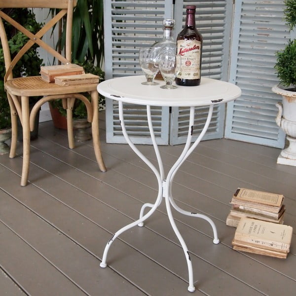 Kovový stůl Tuscany