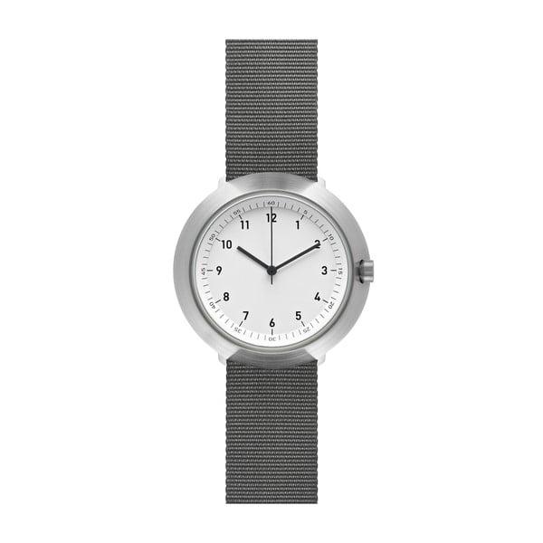 Hodinky White Fuji Grey Nylon, 43 mm
