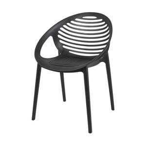Černá  židle Canett Elements