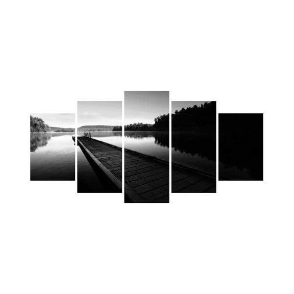 Vícedílný obraz Black&White no. 69, 100x50 cm