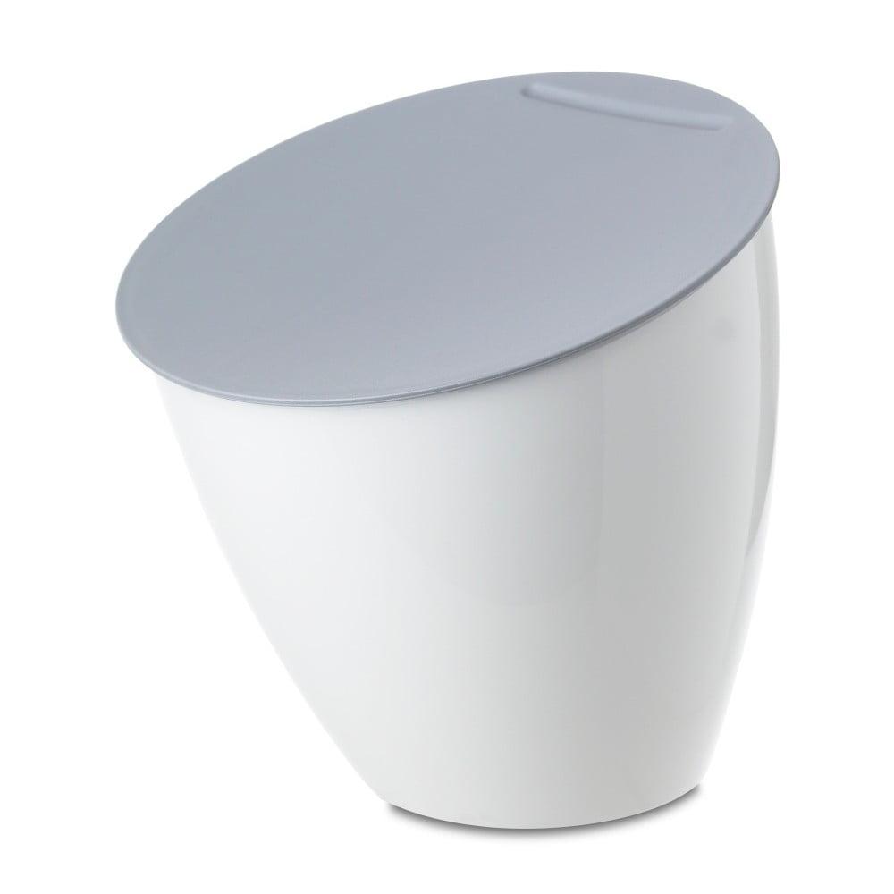 Bílý odpadkový koš na kuchyňskou linku Rosti Mepal Calypso, 2,2l Rosti Mepal