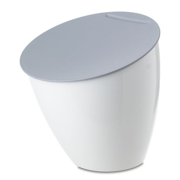 Biely odpadkový kôš na kuchynskú linku Rosti Mepal Calypso, 2,2 l