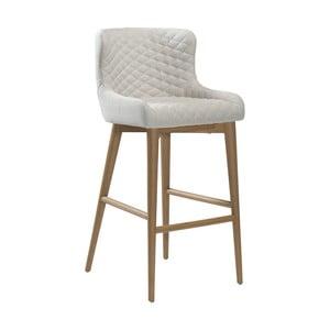 Krémová barová židle DAN-FORM Denmark Vetro