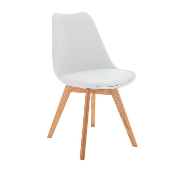 Židle Carisse, bílá