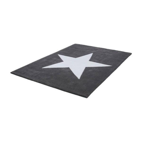 Ručně tkaný koberec Kayoom Peony 822 Grau, 120 x 170 cm