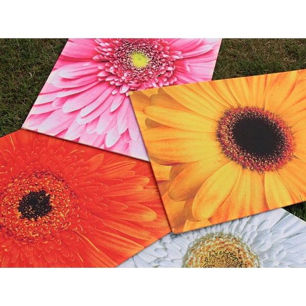 Předložka Flower Orange 75x50 cm