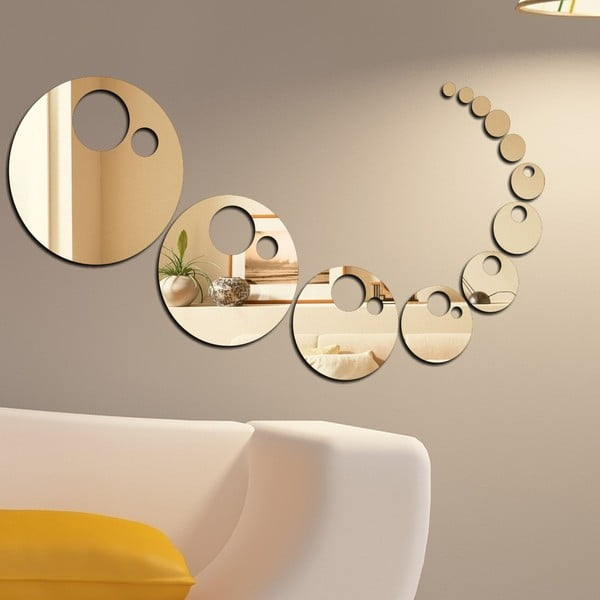 Dekorativní zrcadlo Bubli