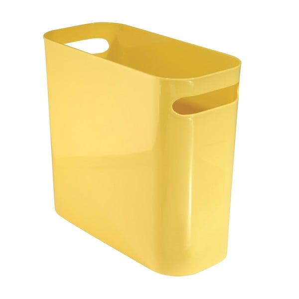 Úložný koš Una Yellow, 28x16 cm