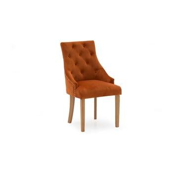 Set 2 scaune dining VIDA Living Hobbs, portocaliu de la VIDA Living