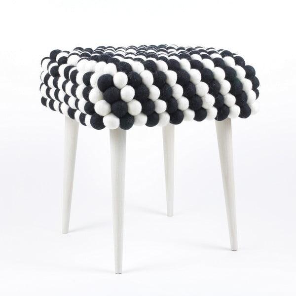 Ručně vyrobená kuličková stolička Salt and Pepper