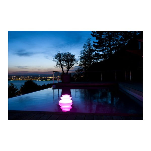Náladové zahradní světlo Zen, 42x28 cm