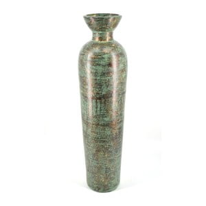 Šedozelená terakotová váza Moycor Cooper, 100 cm