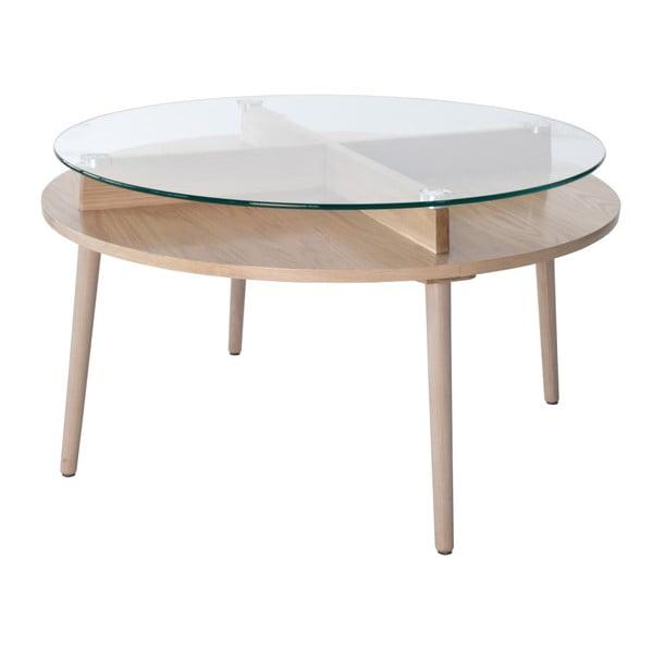 Konferenční stolek z dubového dřeva RGE Solo