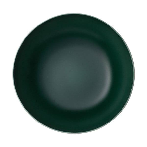Bílo-zelená porcelánová servírovací miska Villeroy & Boch Uni, ⌀ 26 cm