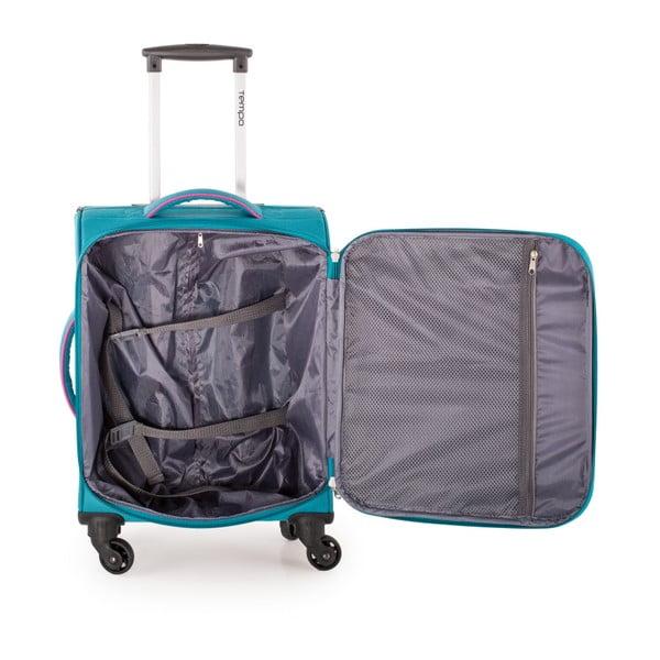 Set 3 cestovních kufrů Trolley Fuchsia