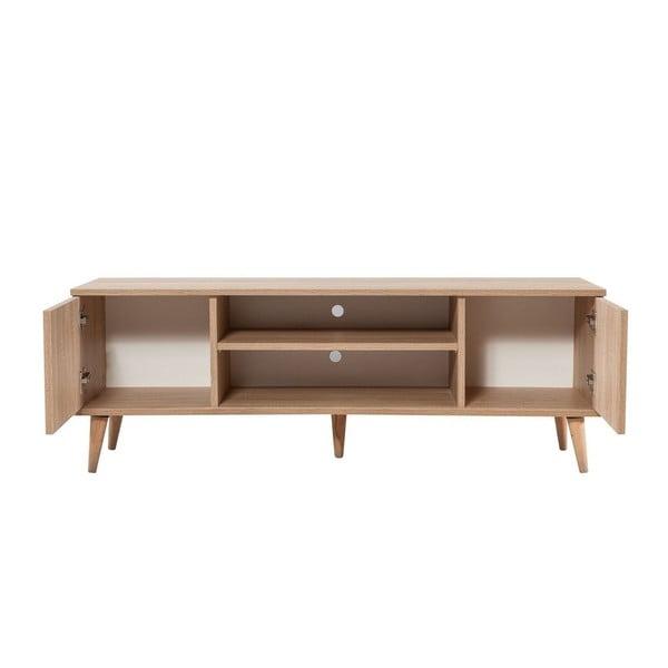 Dřevěný TV stolek Fokas Stripes