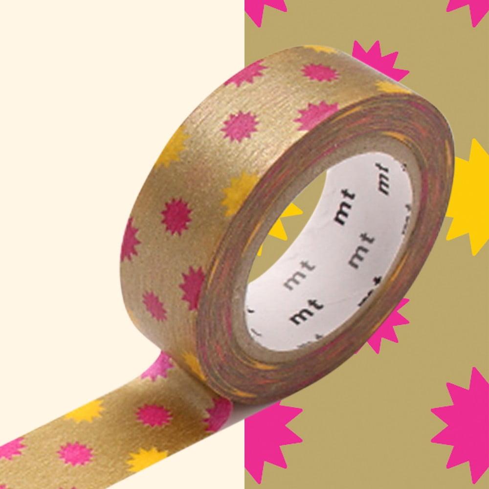 Washi páska MT Masking Tape Yvonne, návin 10 m