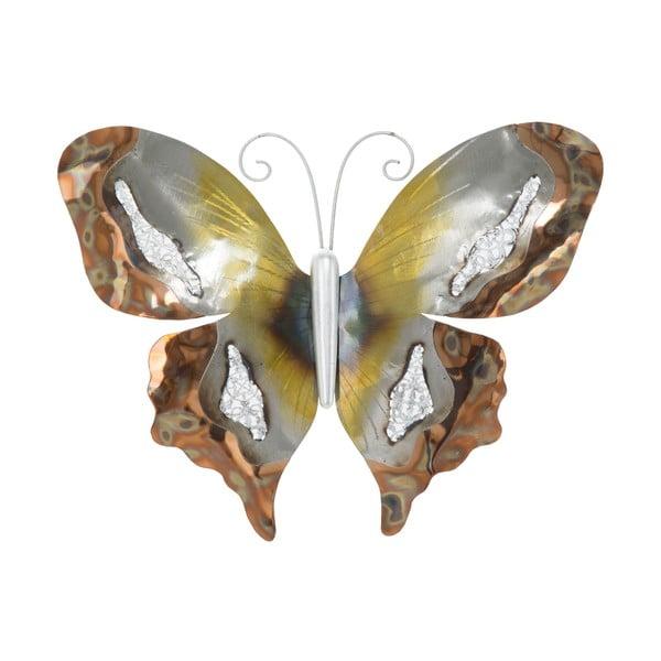 Nástenná dekorácia Mauro Ferretti Butterfly, 36,5 × 28,5 cm