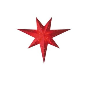 Dekorativní hvězda Twinkle Red, 60 cm