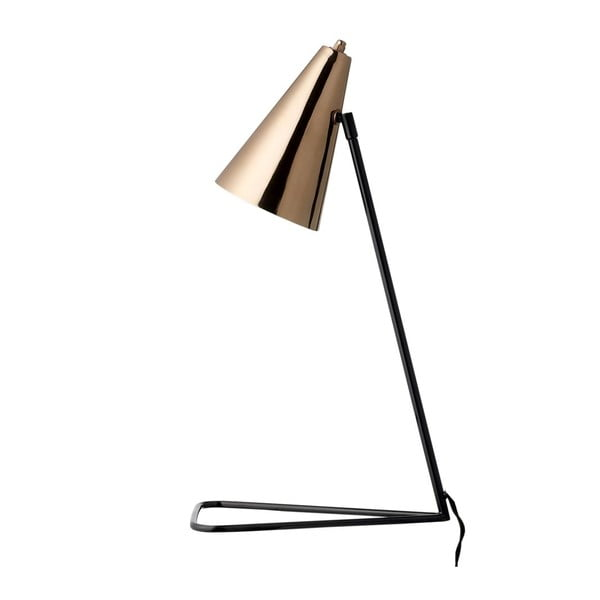 Měděná stolní lampa Cobre