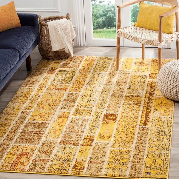 Žlutý koberec Safavieh Effi, 121x170cm