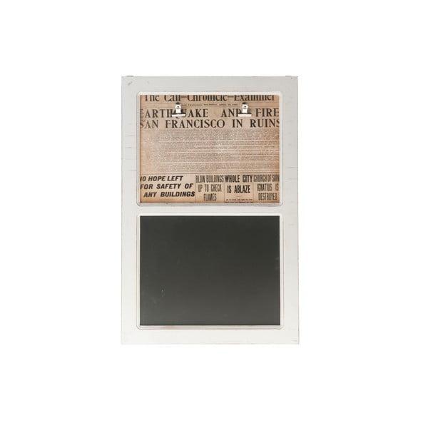 Dřevěná tabule s nástěnkou Arnt