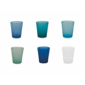 Sada 6 barevných skleniček Villa d´Este Marea Ocean