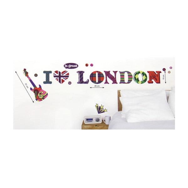 Samolepka na zeď I Love London
