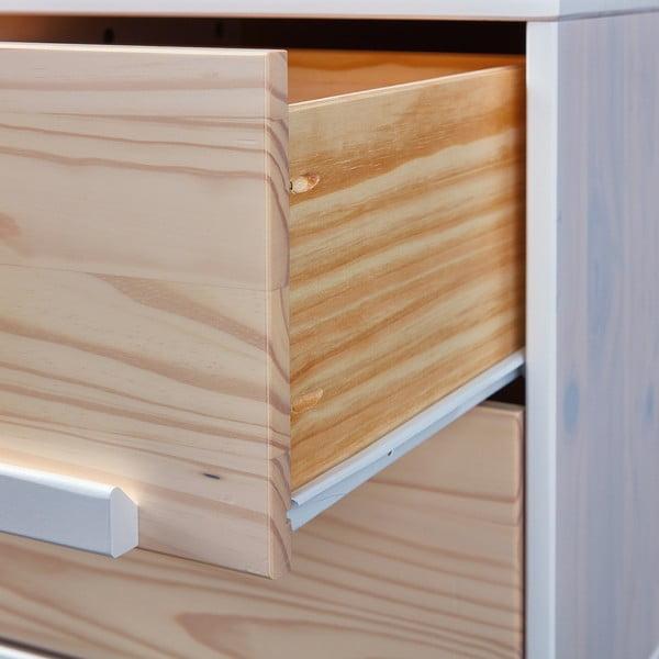 Noční stolek z borovicového dřeva Interlink Ebbo