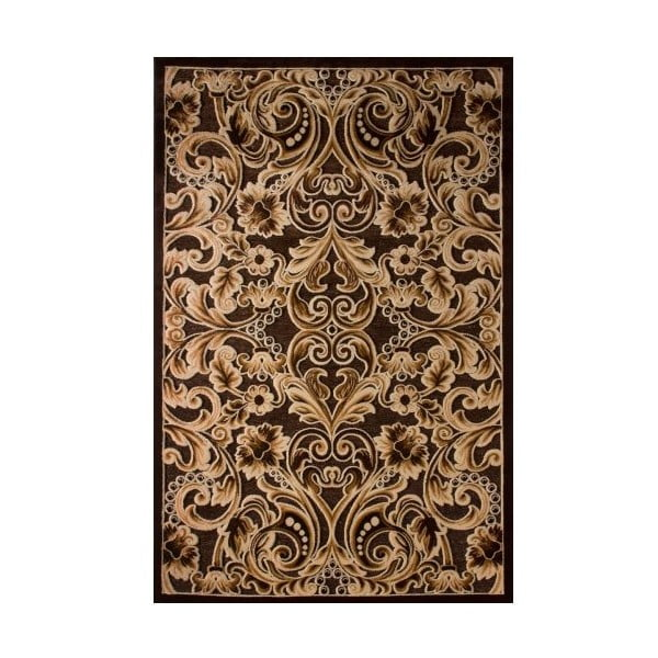 Koberec Brown Ornaments, 80x150 cm