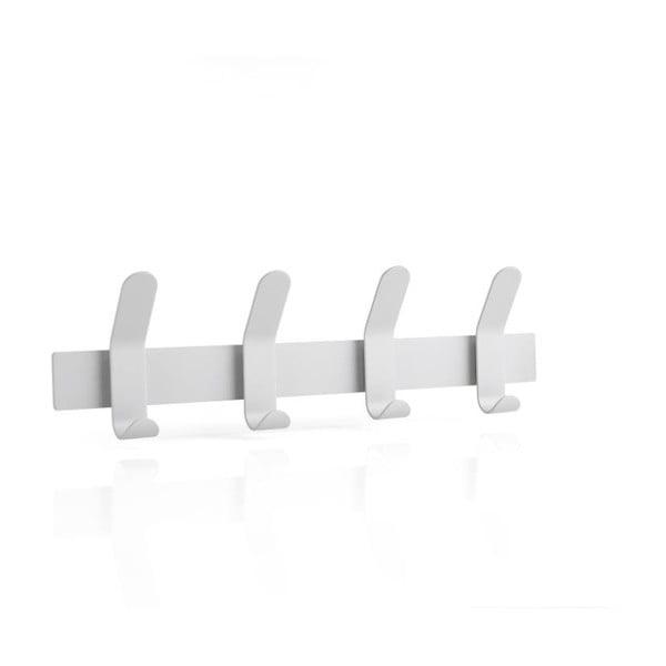 A-Rack Soft Grey szürke acél fali fogas - Zone