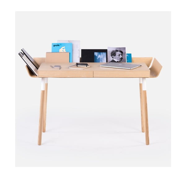 My Writing natúr íróasztal 2 fiókkal - EMKO
