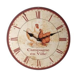 Nástěnné hodiny Antic Line Campagne