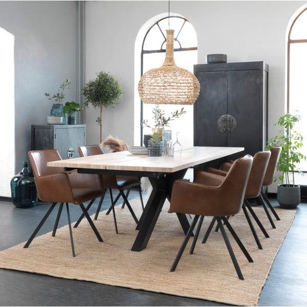 Černý jídelní stůl Canett Maison