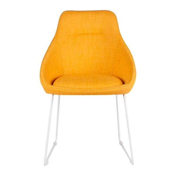 Set 2 scaune sømcasa Alba, galben
