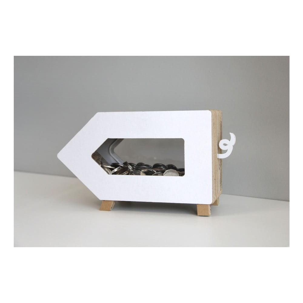 Transparentní kasička Unlimited Design For Children Prasátko