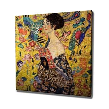 Reproducere tablou pe pânză Gustav Klimt , 45 x 45 cm