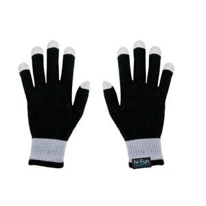 Hi-Glove Rukavice na dotykové displeje, černá