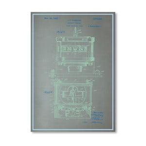 Plakát Magnetic, 30x42 cm