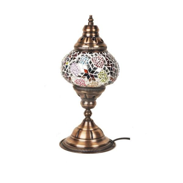 Skleněná ručně vyrobená lampa Flat Foot Mykonos, ⌀ 13cm
