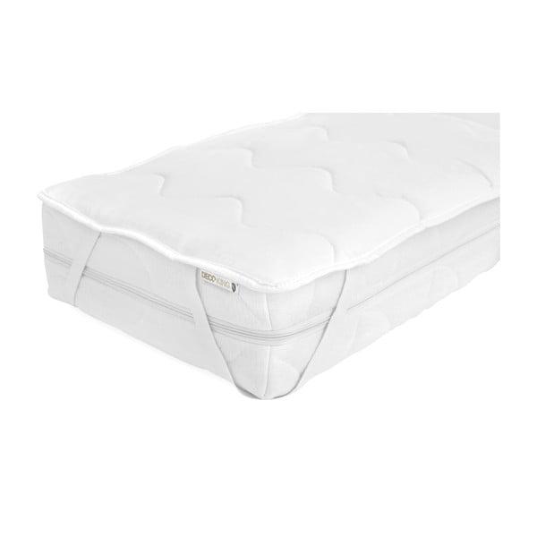 Ochronny pokrowiec z mikrowłókna na materac jednoosobowy DecoKing Lightcover, 90x200 cm
