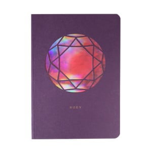Jurnal A6 Portico Designs Ruby Birthstone, 124 file