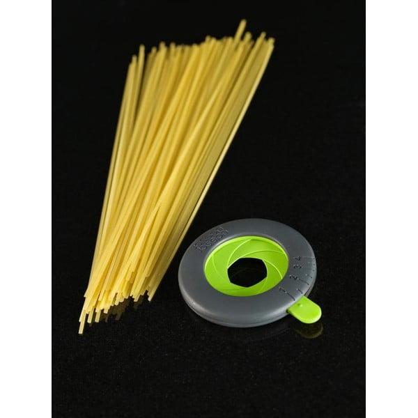 Dozator pentru spaghete SpaghettiMeasure,gri/verde