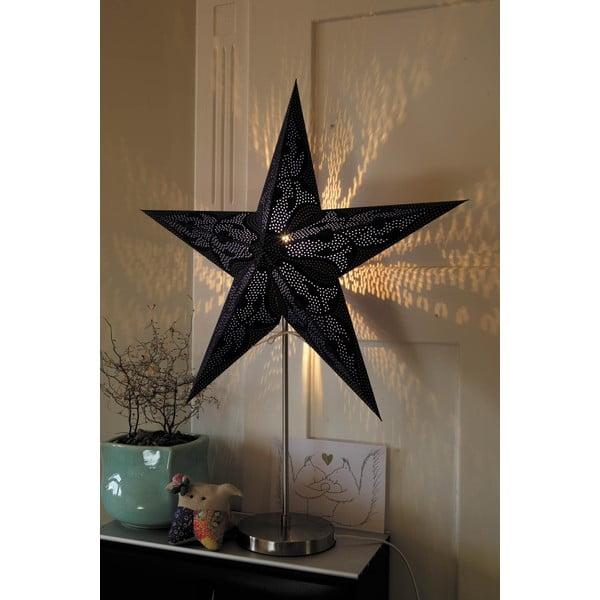 Stolní konstrukce lampy na dekorativní hvězdy