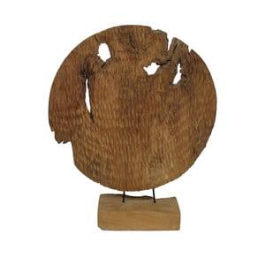 Dekorace  z teakového dřeva HSM collection Garit, ⌀50cm